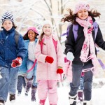 MN kids bundled up in winter
